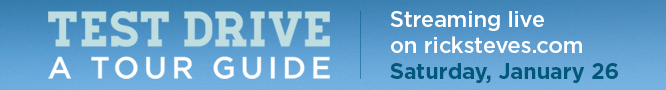 Test Drive a Tour Guide Banner