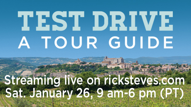 Test Drive a Tour Guide Tile